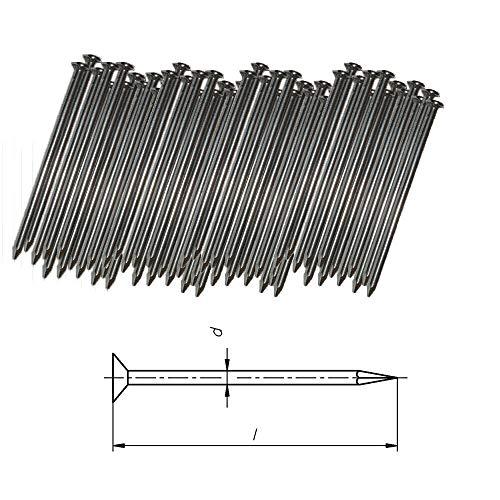 2.5 125mm verzinkt N/ägel Baun/ägel Drahtstifte