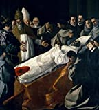 Francisco de Zurbaran – The Lying-in-State of Saint