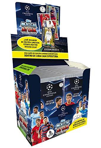 Devir Topps - Caja de Sobres de Cartas Champions League 2015/2016 (011366)