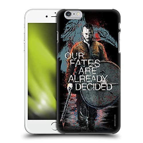 Head Case Designs Licenza Ufficiale Vikings Ragnar Lothbrok Arte Personaggio Cover Dura per Parte Posteriore Compatibile con Apple iPhone 6 Plus/iPhone 6s Plus