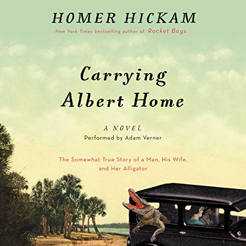 Carrying Albert Home audiobook cover art