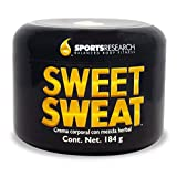 Sports Research Sweet Sweat Workout Enhancer, Thermogenic Muscle Engagement Supplement - 6.5 ounces