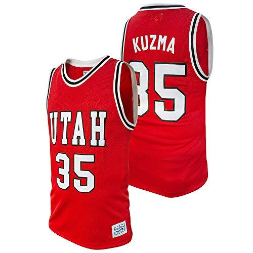 Elite Fan Shop Kyle Kuzma Retro Utah Utes Basketball Jersey - X-Large - Kyle Kuzma Red
