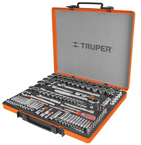 Truper JD-135MP, Juego de herramienta para mecánico, mixto, 135 piezas