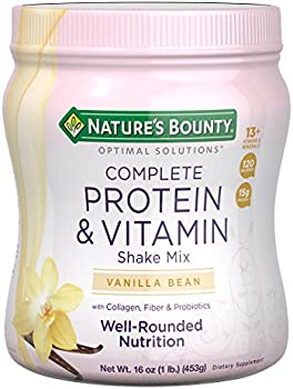 Nature's Bounty Optimal Solutions Contains Vitamin C Protein Powder, 1 lb