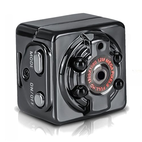 TOOGOO Mini Completo HD 1080P Camara de accion deportiva DV Camara Videocamara grabadora de video DVR del coche