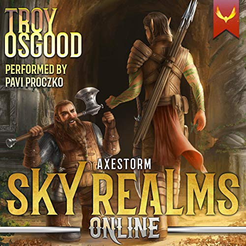 Axestorm: Sky Realms Online, Book 3  By  cover art