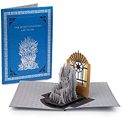 game of thrones gifts ~ handmade pop up card