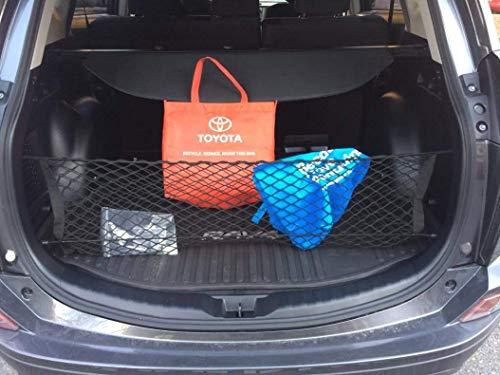 eAccessoriesUSA – Red de carga para maletero trasero para Toyota RAV4 RAV 4 2013-2018 espacio vertical…