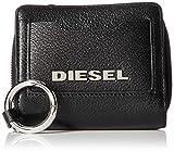 (ディーゼル) DIESEL レディース レザー 二つ折り財布 X07190PR044 UNI ブラック T8013