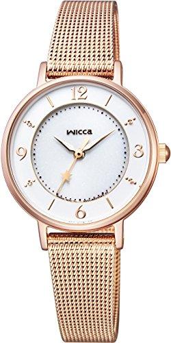 [シチズン] 腕時計 ウィッカ KP3-465-13 ソーラーテック メッシュバンドモデル レディース