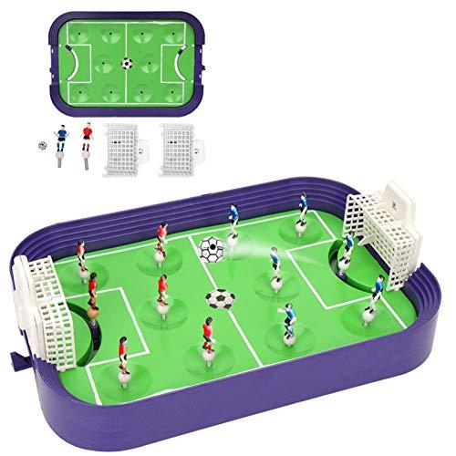QIUXIANG-EU Mini Tischplatte Fußball Brettspiel Spiel Heimspiel Geburtstagsgeschenk Spielzeug für Fußballtische kommt mit Zwei kleinen Fußbällen