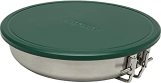 Stanley Adventure Stainless Fry Pan Camp Cook Set, 9 Piece Camping Cookware Mess Kit with...