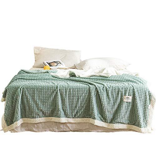 RONGXIE Neue Fleecedecken Und Decken Für Erwachsene Dicke Warme Winterdecken Superweiche Decken Gelbe Samtdecken Auf Dem Bett Home Camping Bettwäsche