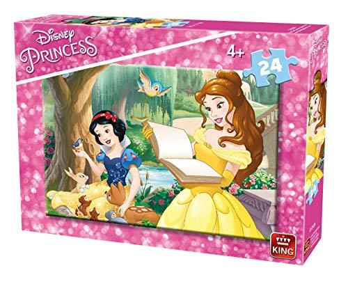 King Disney 2 puzzel puzzel puzzel, tekeningen, kinderen, disney, prinses, Chica