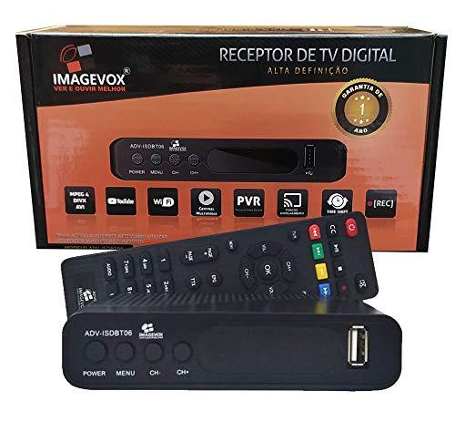Conversor De Tv Digital HD Original Imagevox Adv-Isdb06