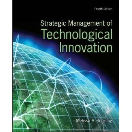 Strategic Management Of Technological Innovation 3rd Edition Pdf