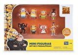 Bizak Minions - Pack de 8 Mini Figurines 61230017