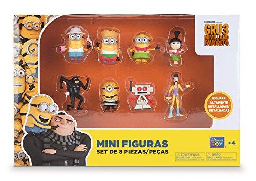 Bizak Minions - Pack de 8 Mini Figuras...