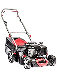 AL-KO petrol lawn mower Classic 4.25 PB, 42 cm cutting width, 1.8 kW engine power, for lawns up to 800 m², cutting height 7-fold adjustable, robust sheet steel housing level indicator