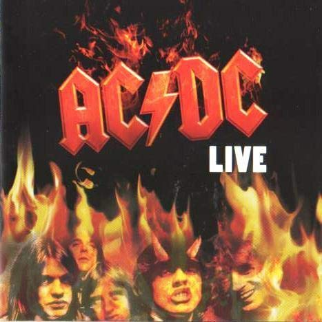 CD ACDC - Live