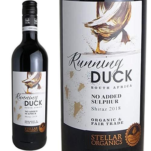 ランニングダック・オーガニック&酸化防止剤無添加・シラーズ 2018 ステラー 南アフリカ 赤ワイン 750ml