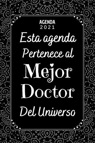 Mejor Doctor AGENDA 2021: Agenda semana vista A5 , 12 meses ,...