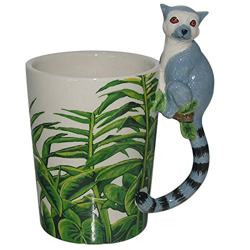 Mug With Lemur Handle