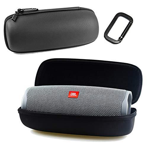 Flycoo harde schaal beschermhoes voor JBL Charge 4 luidspreker, draagbaar, draadloos, bluetooth, schokbestendig, waterdicht, stofbescherming, draagbaar, met ritssluiting