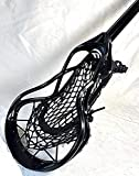 Beast7 Lacrosse Stick All-Black/Ti-Scan Shaft