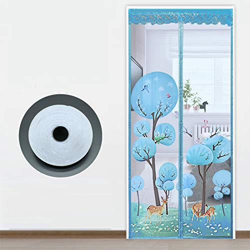 cortinas magneticas antimosquitos con dibujo