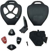 This 4 Buttons Replacement for Key Fob Keyless Entry Remote Shell Case Fits Toyota Matrix Rav4 Venza Yari/Scion iQ tC xB xD (HYQ12BBY, GQ4-29T, MOZB41TG) (Only Casing)