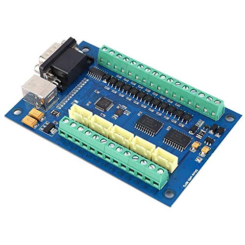 WULE-RYP 5 Tarjeta controladora de 100 KHz de Movimiento Eje Junta for el Grabado 12-24V USB
