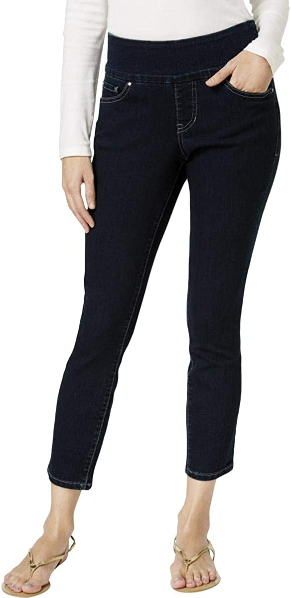 Jag Jeans Women's Amelia Pull on Slim Fit Ankle Jean