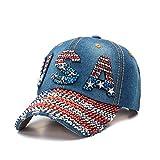 Gorra de béisbol Sombrero Vaquero Diamante Gorra