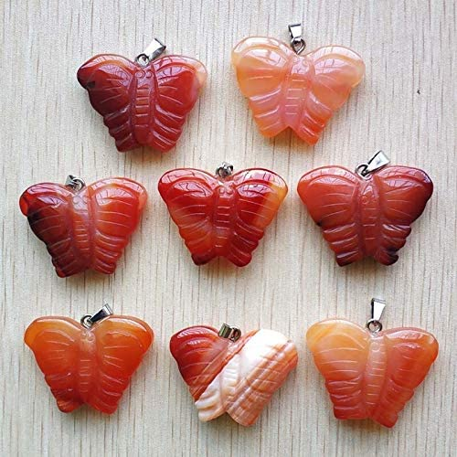 ZILMAKO new Fashion Ranking TOP6 hight quality natural carved Choice onyx red butter