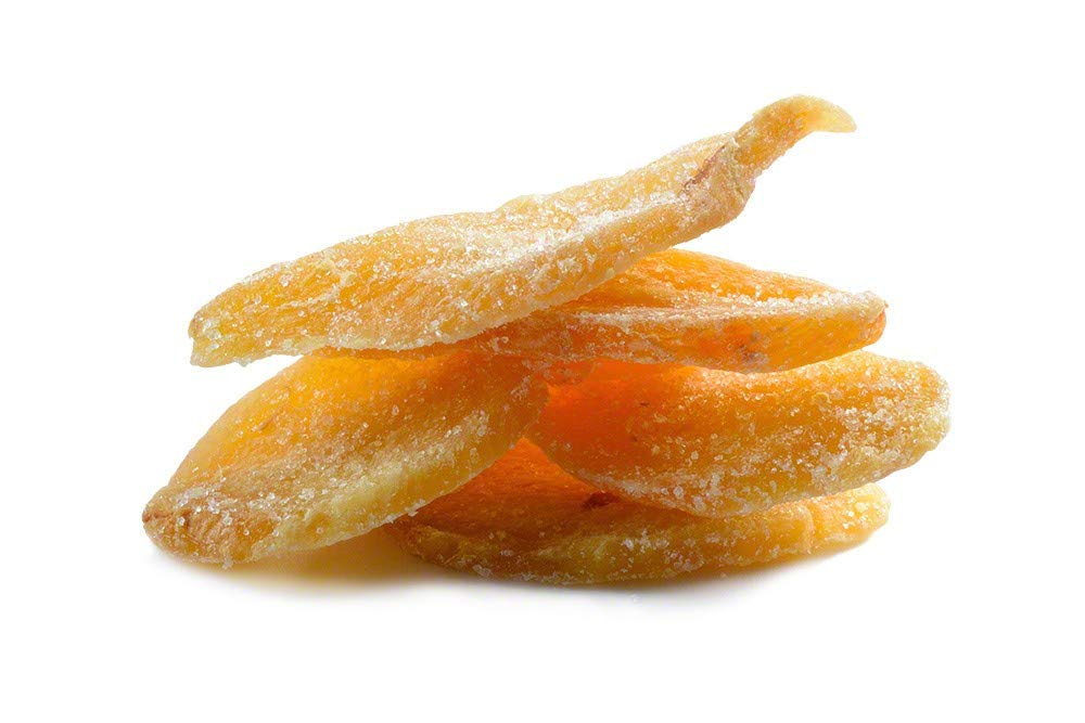 Crystallized Ginger, No Sulfur (17lb Case)