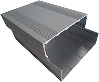 Rtengtunn Pieza de Aluminio B Caja de Instrumentos Caja de conexión Caja Proyecto electrónico DIY - 200S