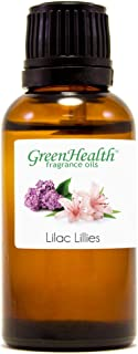 1 fl oz Lilac Lilies Fragrance Oil (Glass Bottle w/Euro Dropper) - GreenHealth
