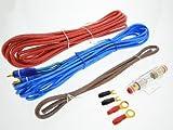 Juego de cables para amplificador, conector de Juego, Juego de cables AWG 8