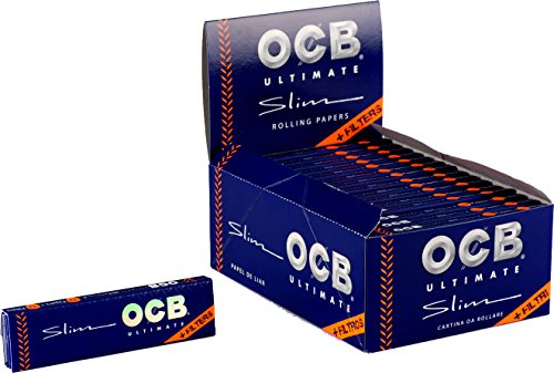 OCB 15427 Ultimate Rolling Papers, de Papel Largo,{32} librillos a{32} Hojas