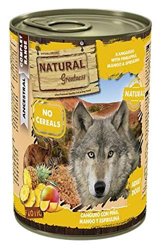 Natural Greatness - Natural Greatness Canguro, Piña y Espirulina Perro - 2392 - 400 Grs.