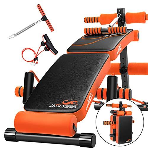 TX- Panca Regolabile Sit Up AB, Panca Ribaltabile Ribaltabile con Impugnatura Reverse Crunch per Home Gym Ab Exercise, Attrezzature multifunzionali per Il Fitness