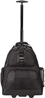 Targus Rolling Backpack Designed for Business and Travel Commuter for 15.4-Inch Laptop, Black (TSB700)