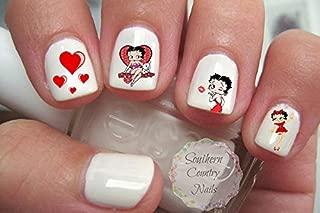Betty Boop Nail Art Decals Set 3