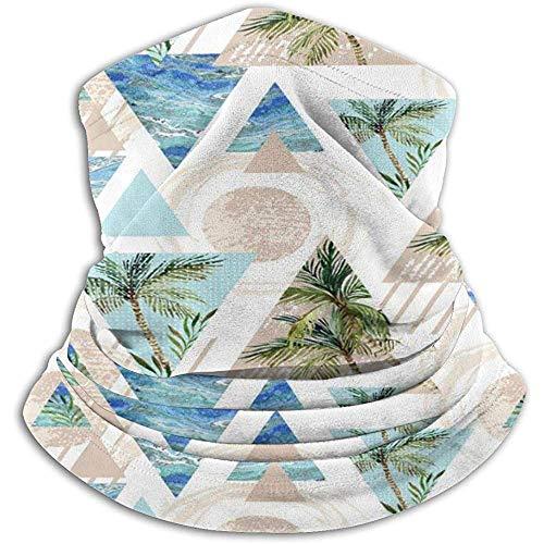 Gjiesh Retro Palm Tree Neck Warmer Neck Cover Tubo para el cuello...