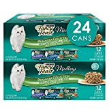 Two (2) Packs Of Twelve (12) 3 Ounce Cans - Purina Fancy Feast Medleys Primavera Collection Adult Wet Cat Food Variety Pack Tender Tuna, Turkey Or Chicken Offers Delicious Taste And Texture 100% Complete And Balanced Nutrition For Adult Cats Classic ...