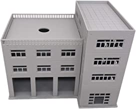 Outland Models Railroad Scenery 3-Stall Truck Garage/Engine House N Scale