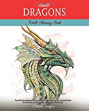 Doodle Dragons: Adult Coloring Book (Stress Relieving Creative Fun Drawings to Calm Down, Reduce Anxiety & Relax.Great Christmass Gift Idea For Men & Women 2020-2021)