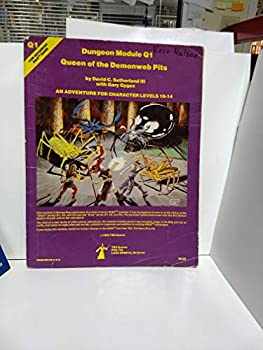 Queen of Demonweb Pits (Advanced Dungeons & Dragons module Q1) - Book  of the Advanced Dungeons and Dragons Module #C4